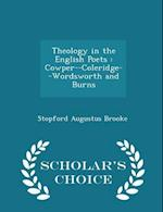 Theology in the English Poets af Stopford Augustus Brooke