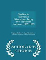 Studies in European Literature af Stephane Mallarme