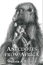 Anecdotes from Africa af Werner Richter