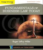 Cengage Advantage Books: Fundamentals of Business Law Today: Summarized Cases af Roger Miller