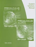 Student Solutions Manual for Larson's Precalculus: Real Mathematics, Real People, 7th