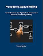 Procedures Manual Writing