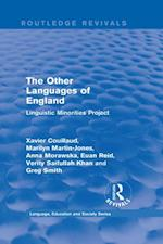 Routledge Revivals: The Other Languages of England (1985) (Routledge Revivals Language Education and Society Series)