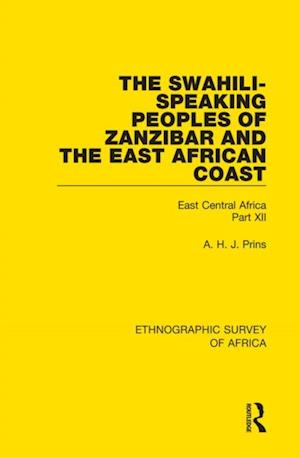 Swahili-Speaking Peoples of Zanzibar and the East African Coast (Arabs, Shirazi and Swahili)