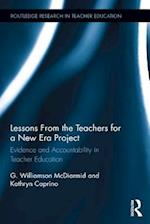 Lessons from the Teachers for a New Era Project (Routledge Research in Teacher Education)