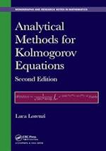 Analytical Methods for Kolmogorov Equations, Second Edition af Luca Lorenzi
