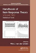 Handbook of Item Response Theory, Volume Two (Chapman & Hall/Crc Statistics in the Social and Behavioral Sciences)