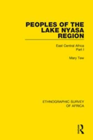 Peoples of the Lake Nyasa Region af Mary Tew