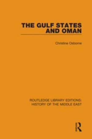 Gulf States and Oman af Christine Osborne