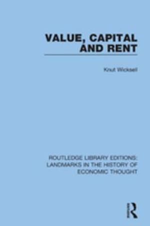 Value, Capital and Rent