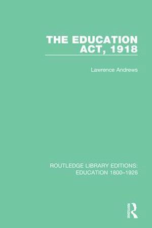 Education Act, 1918