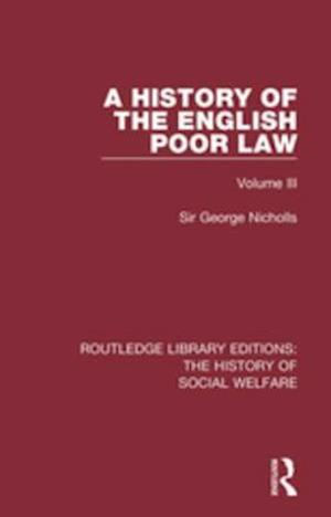 History of the English Poor Law