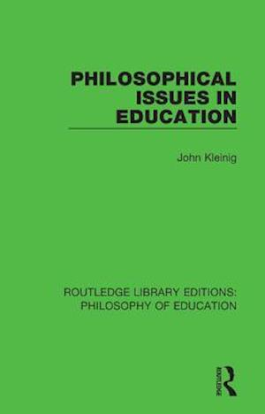 Philosophical Issues in Education