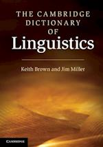 Cambridge Dictionary of Linguistics af Keith Brown
