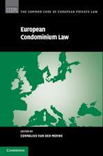 European Condominium Law (The Common Core of European Private Law)