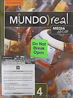 Mundo Real Level 4 Student's Book Plus 1-Year Eleteca Access Media Edition