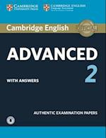 Cambridge English Advanced 2 Student's Book with Answers and Audio (CAE Practice Tests)