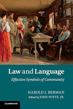 Bog, hæftet Law and Language af Harold J. Berman