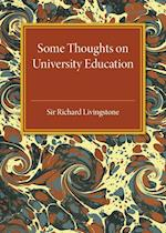 Some Thoughts on University Education