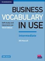 Business Vocabulary in Use: Intermediate Book with Answers