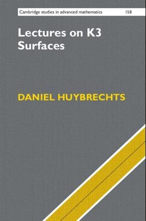 Lectures on K3 Surfaces af Daniel Huybrechts