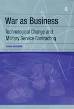 War as Business af Armin Krishnan
