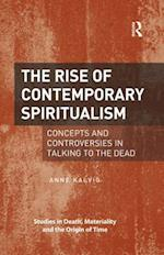 Rise of Contemporary Spiritualism af Anne Kalvig