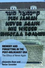 Memory and Forgetting in the Post-Holocaust Era (Memory Studies Global Constellations)