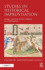Studies in Historical Improvisation