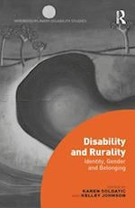 Disability and Rurality (Interdisciplinary Disability Studies)
