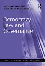 Democracy, Law and Governance af Marc Maesschalck