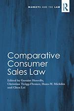 Comparative Consumer Sales Law (Markets And The Law)