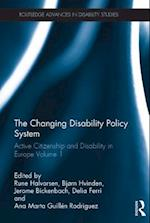 Changing Disability Policy System (Routledge Advances in Disability Studies)