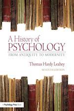 History of Psychology af Thomas Hardy Leahey