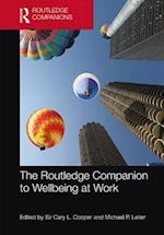 Routledge Companion to Wellbeing at Work (Routledge Companions in Business, Management and Accounting)