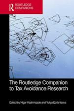 Routledge Companion to Tax Avoidance Research (Routledge Companions in Business, Management and Accounting)