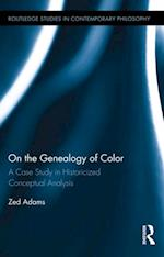 On the Genealogy of Color af Zed Adams