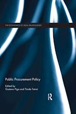Public Procurement Policy (The Economics Of Legal Relationships)