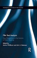 Film Text Analysis (Routledge Advances in Film Studies)