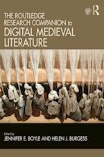Routledge Research Companion to Digital Medieval Literature