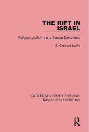 Rift in Israel (RLE Israel and Palestine)