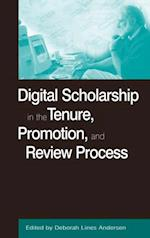 Digital Scholarship in the Tenure, Promotion and Review Process