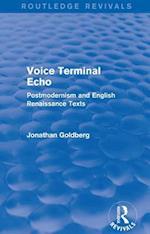 Voice Terminal Echo (Routledge Revivals) (Routledge Revivals)