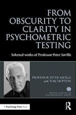 From Obscurity to Clarity in Psychometric Testing (World Library of Psychologists)