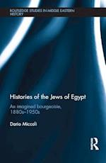 Histories of the Jews of Egypt af Dario Miccoli