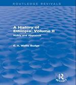 History of Ethiopia: Volume II (Routledge Revivals)