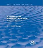 History of Ethiopia: Volume I (Routledge Revivals)