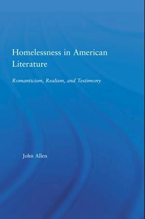 Homelessness in American Literature