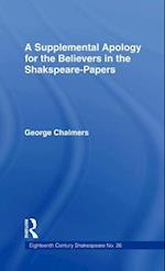 Supplemental Apology for Believers in Shakespeare Papers af George Chalmers