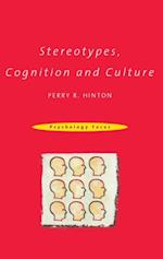 Stereotypes, Cognition and Culture (Psychology Focus)